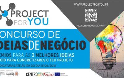 AESoure promove Concurso Ideias de Negócio Project For You