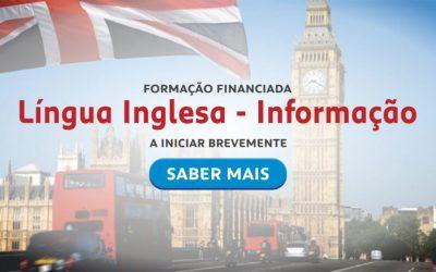 Formação Financiada – Língua inglesa – gestão de stocks e logística