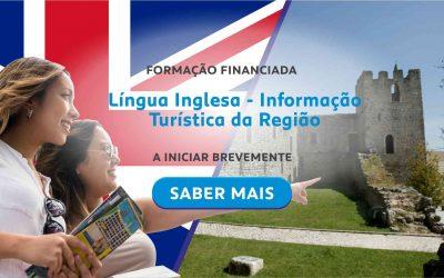 Formação Financiada – Língua Inglesa – informação turística da região