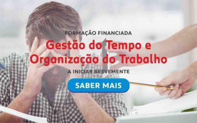 Formação Financiada – Gestão do Tempo e Organização do Trabalho