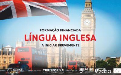 Inscrição para Formação em Língua Inglesa na AESOURE