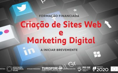 Formação em marketing digital e sites web, brevemente na AESoure
