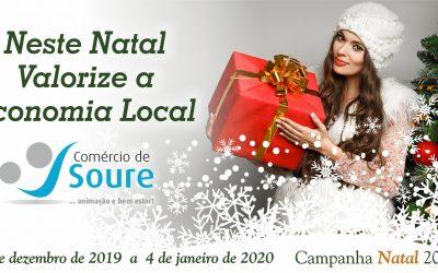 Compre no comércio de proximidade, vem aí a campanha de Natal 2019.