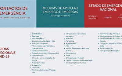 COVID-19 | Governo lança site com todas as medidas excecionais adotadas