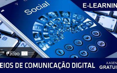 Formação online – Meios de comunicação digital