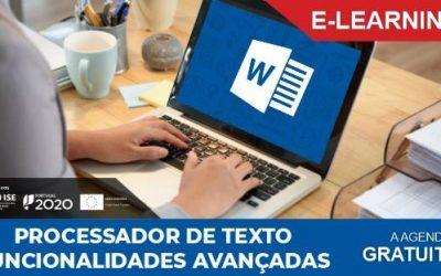 Processador de Texto – Funcionalidades Avançadas – Formação online