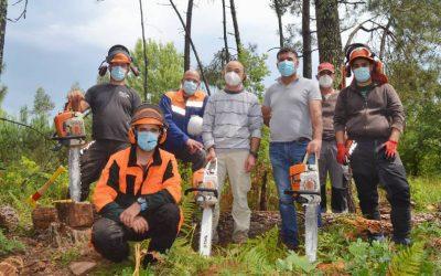 """AESoure conclui formação de """"Utilização da motosserra nas operações florestais"""""""