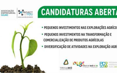 DLBC Terras de Sicó tem candidaturas abertas 2019